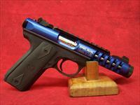 Ruger 22/45 Lite Rimfire .22 Long Rifle 4.4 Inch Threaded Barrel Deep Blue Anodized  (03908)