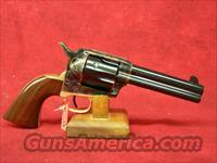"Uberti 1873 Cattleman II Brass NM 4 3/4"" .45 Colt with Improved Retractable Firing Pin   (356400)"
