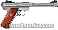 "Ruger MKIII Hunter 6 7/8"" .22lr KMKIII678H Brown Laminate (10118)."