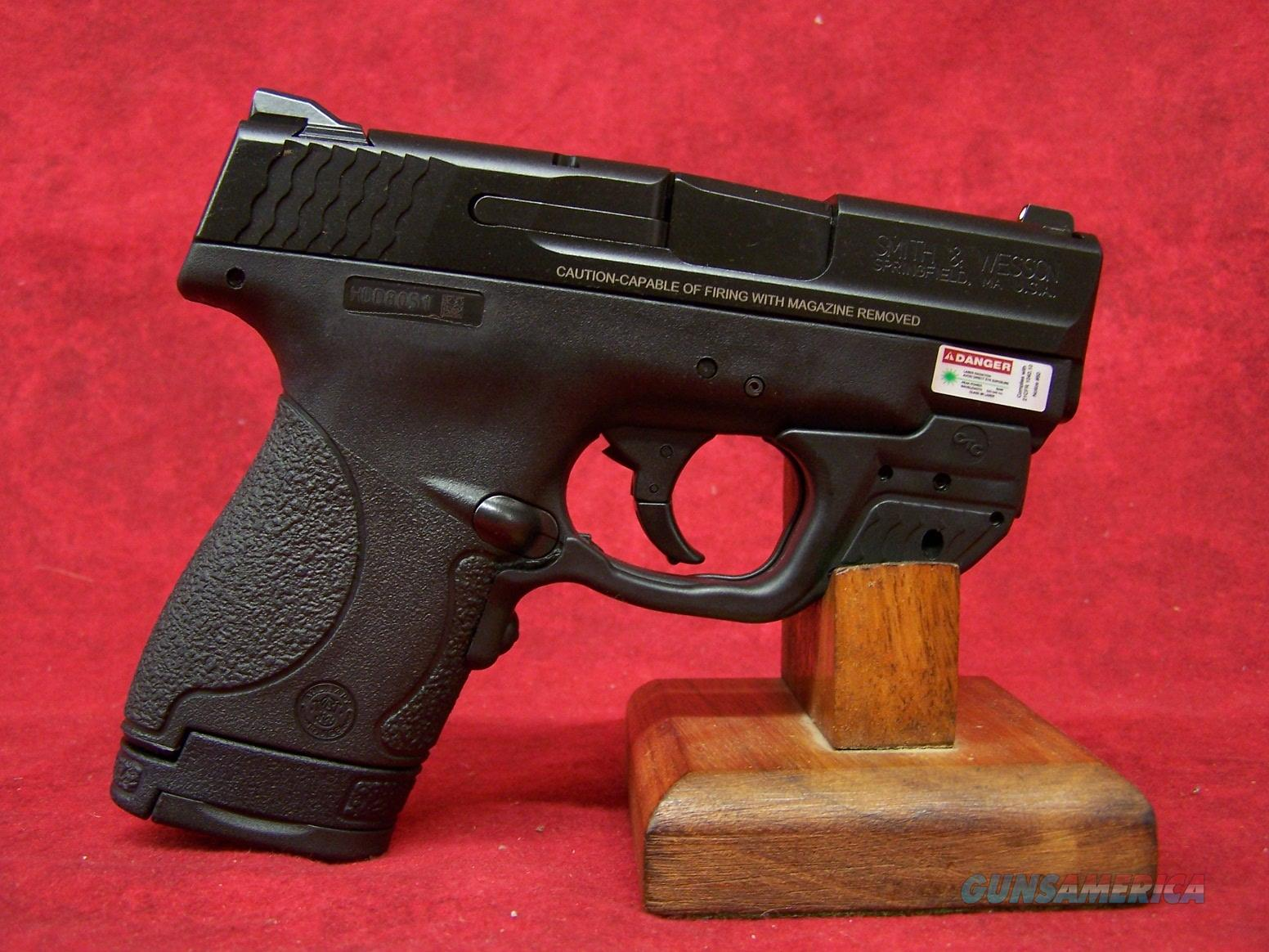 Smith & Wesson M&P Shield With Crimson Trace Green Laserguard 9mm 3 1