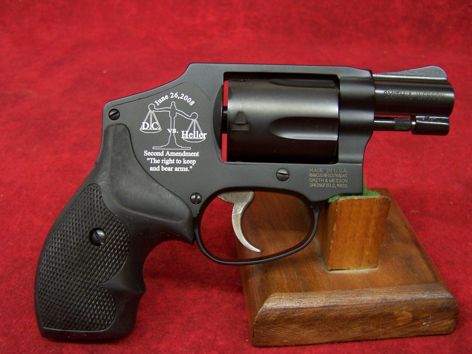 Smith & Wesson 442 D C  vs Heller  38 Special