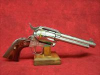 "Ruger Vaquero Deluxe .45 LC 5 1/2"" SS Engraved Limited Edition  (05157)"