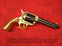 "Uberti 1873 Cattleman .45LC 5 1/2"" New Model w/Brass Backstrap & Trigger guard (344510)"