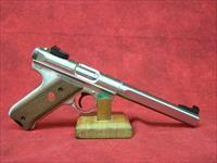 "Ruger Mark III Competition .22 lr 6.875"" Slab Bull Barrel Stainless Finish (10112)"