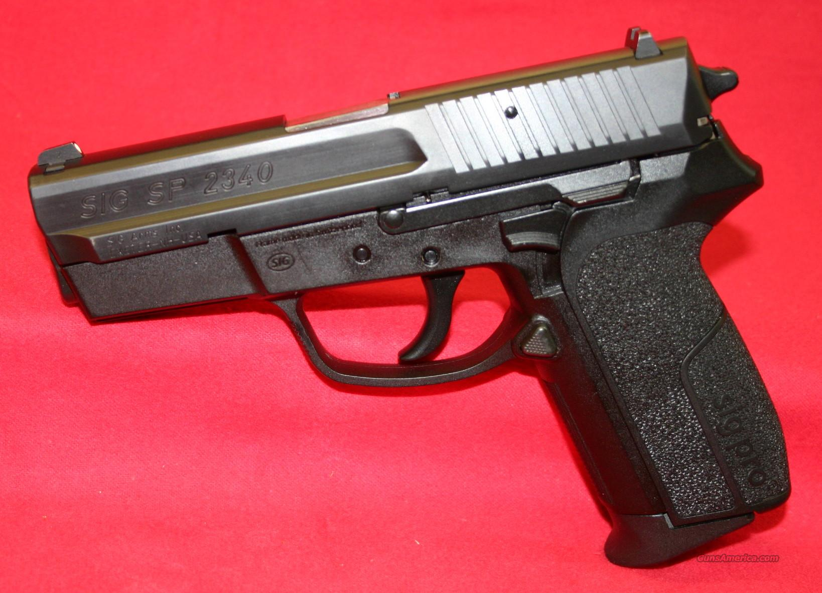 sig arms sp2340 357 sig for sale