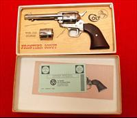 Colt New Frontier 22LR & 22Magnum Nickel Finish NIB