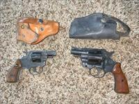 2 GUN AUCTION Röhm RG RG-14 .22 LR and RG-40 .38 six shot revolvers