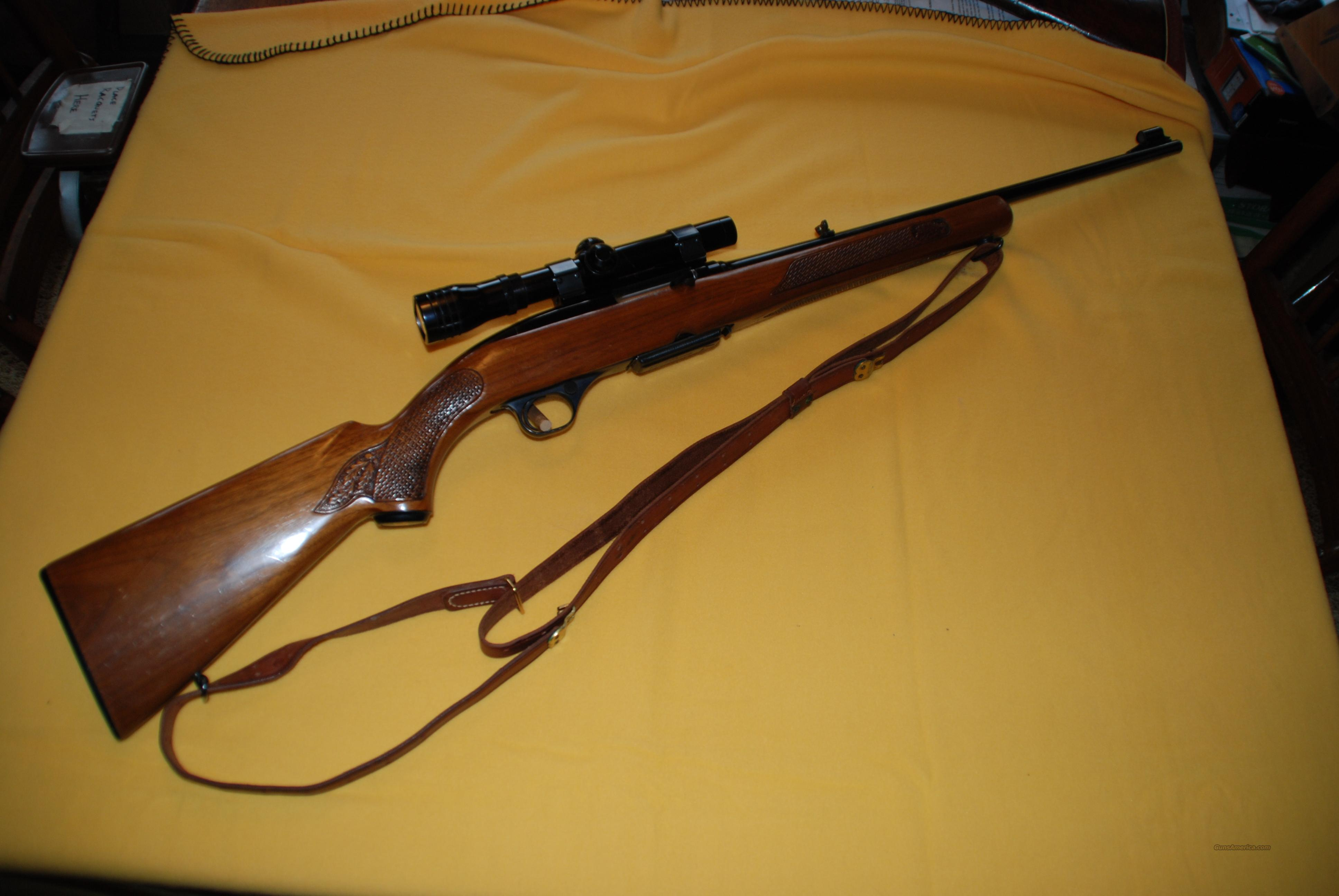 winchester model 100 post 64 284 win with redfi for sale