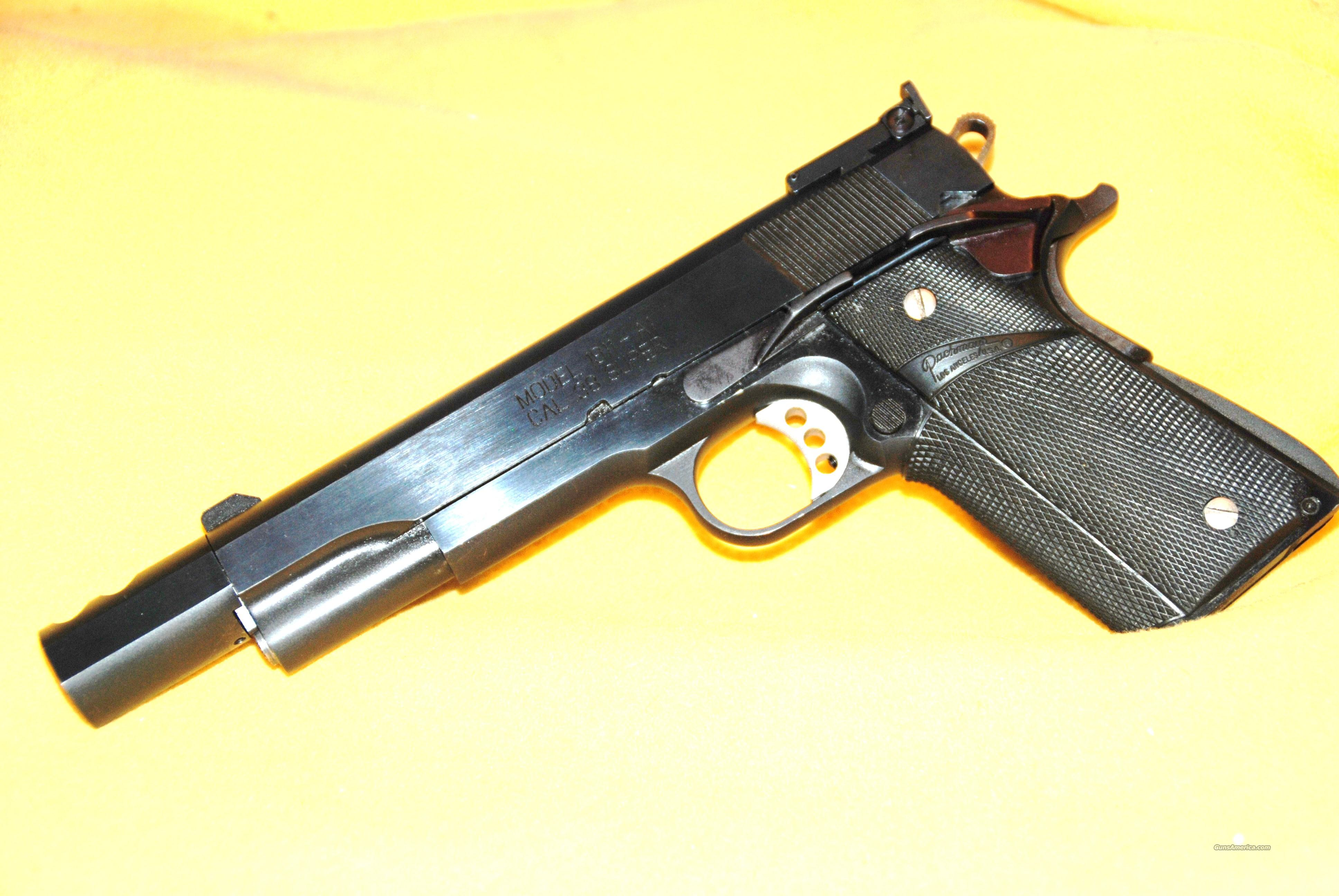 Springfield Armory 1911 A1 38 Super For Sale