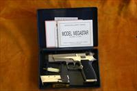 STAR - MEGA STAR 45 - CAL. .45 ACP - WITH BOX, PAPERS, AND EXTRA CLIP -SN# 20271XX