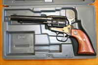 "RUGER NEW MODEL SINGLE SIX - .22 CAL - 5 1/2""BBL"