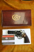 "COLT PYTHON - LIKE NEW - .357 MAGNUM - 4"" BBL - SN# 9284XX - COMES WITH A BOX"