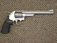 S&W MODEL 629 WITH 8-3/8-INCH BARREL .44 MAGNUM REVOLVER.