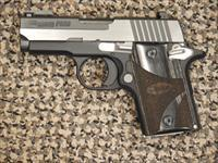 "SIG SAUER P-938 ""EQUINOX"" 9 MM TWO-TONE PISTOL"