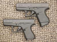 "GLOCK MODEL 43 and 42 SELF-DEFENSE ""HIS and HER "" P{ACKAGE"