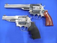 RUGER REDHAWK .45 COLT REVOLVER PAIR 5-AND-7-1/2-INCH