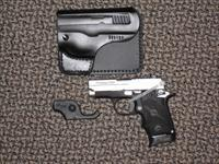 SIG SAUER P-238 TWO-TONE  .380 ACP  WITH LASER, HOLSTER AND NIGHT SIGHTS AT NEW LOWER PRICING!!!