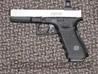 GLOCK 22 CUSTOM WITH ZEV STAINLESS SLIDE...