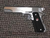 "COLT 1911 ""DELTA ELITE"" STAINLESS 10 MM...NEW at ""used"" pricing......"