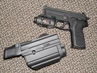 SIG SAUER P-229 TACPAC 9 MM WITH THREE MAGAZINES, LASER/LIGHT, AND HOLSTER