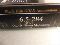 BLACK HILLS GOLD AMMO IN 6.5x284 in 142 GR.