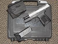 SIG SAUER P-290 RS TWO-TONE .380 ACP WITH TWO MAGS AND NIGHT SIGHTS