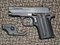 Sig Sauer P-238 ALL BLACK .380 ACP WITH LASER