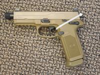 FnH MODEL FNX-45 TACTICAL PISTOL FINISHED IN FDE