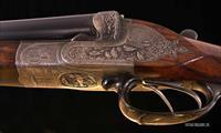 R. Bessel & Sohn 12 Gauge – SUPERB ENGRAVING, FIT, SUPERB FINISH; SCULPTED FRAME, BEST GUN, WOW!