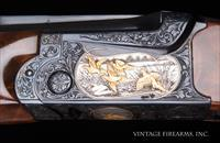 SKB 585 20 Gauge O/U - ANGELO BEE ENGRAVED 10 GOLD INLAYS, WOW!
