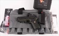 Wilson Combat 9mm – EDC X9 in Green with TRIJICON SRO, In Stock, NEW! vintage firearms inc