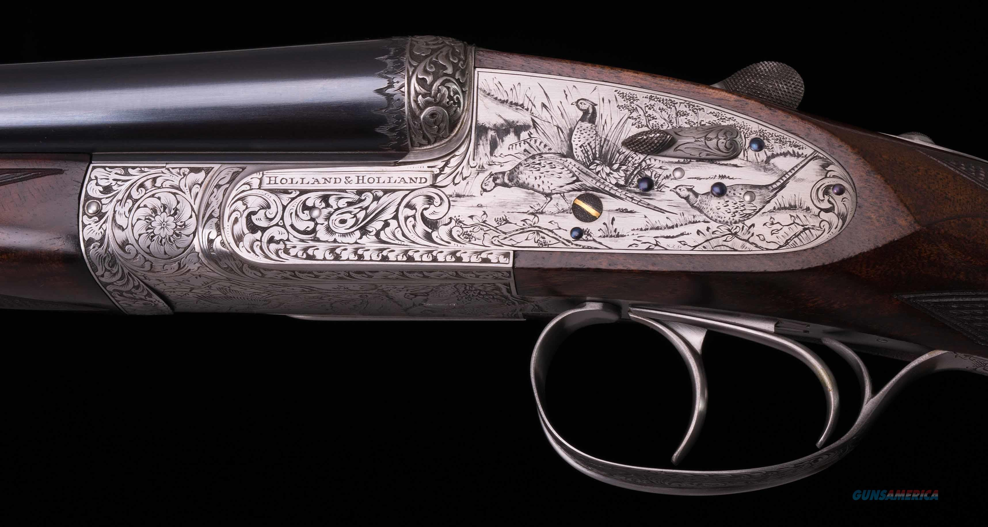 Holland And Holland >> Holland Holland 20 Bore Royal Deluxe Cased Vintage Firearms Inc
