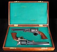 Colt 1851 Old Model Navy – LONDON ADDRESS, FACTORY FACTORY ORIGINAL, HIGH CONDITION, CASED