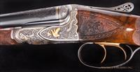 Fox FE Special .410 Gauge SxS  - EXHIBITION, PAUL LANTUCH ENGRAVED, AS NEW!