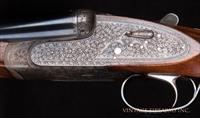 Charles Lancaster 20 Bore SxS - SELF OPENER, SIDELOCK, SINGLE TRIGGER, #2 OF PAIR