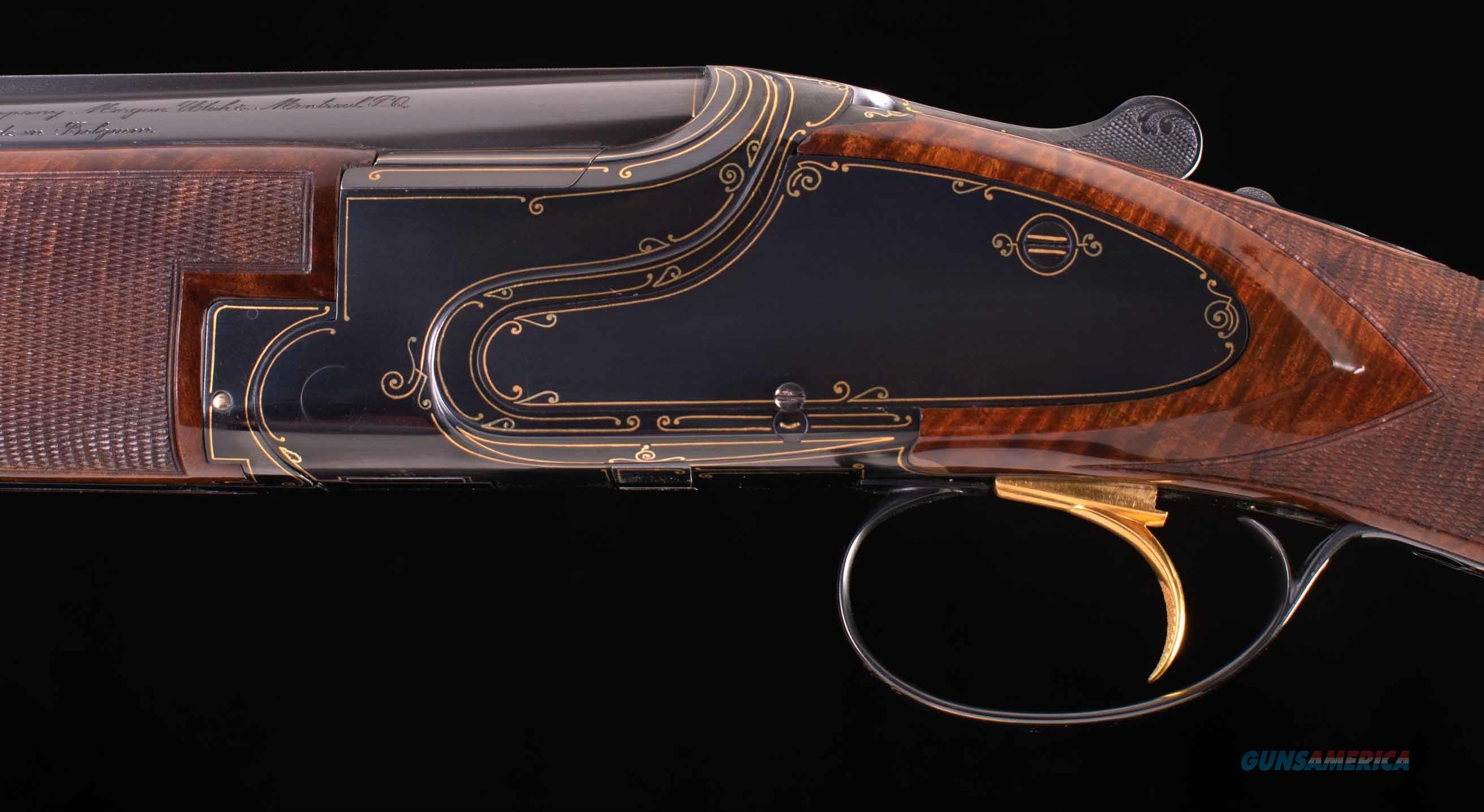 Browning Superposed 20 Gauge – C GRADE EXHIBITION, F-1 TYPE, SIDEPLATES, vintage firearms inc