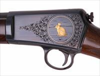 Winchester Model 63 Deluxe Rifle – ENGRAVED, GOLD INLAYS, NEW, VINTAGE FIREARMS inc