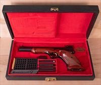 Browning Medalist .22lr – MINT W/CASE, ACCESSORIES, SHIPPING SLEEVE, vintage firearms inc