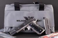 Wilson Combat .45 –CUSTOM ELITE, FACTORY ENGRAVED, IVORY GRIPS, vintage firearms inc