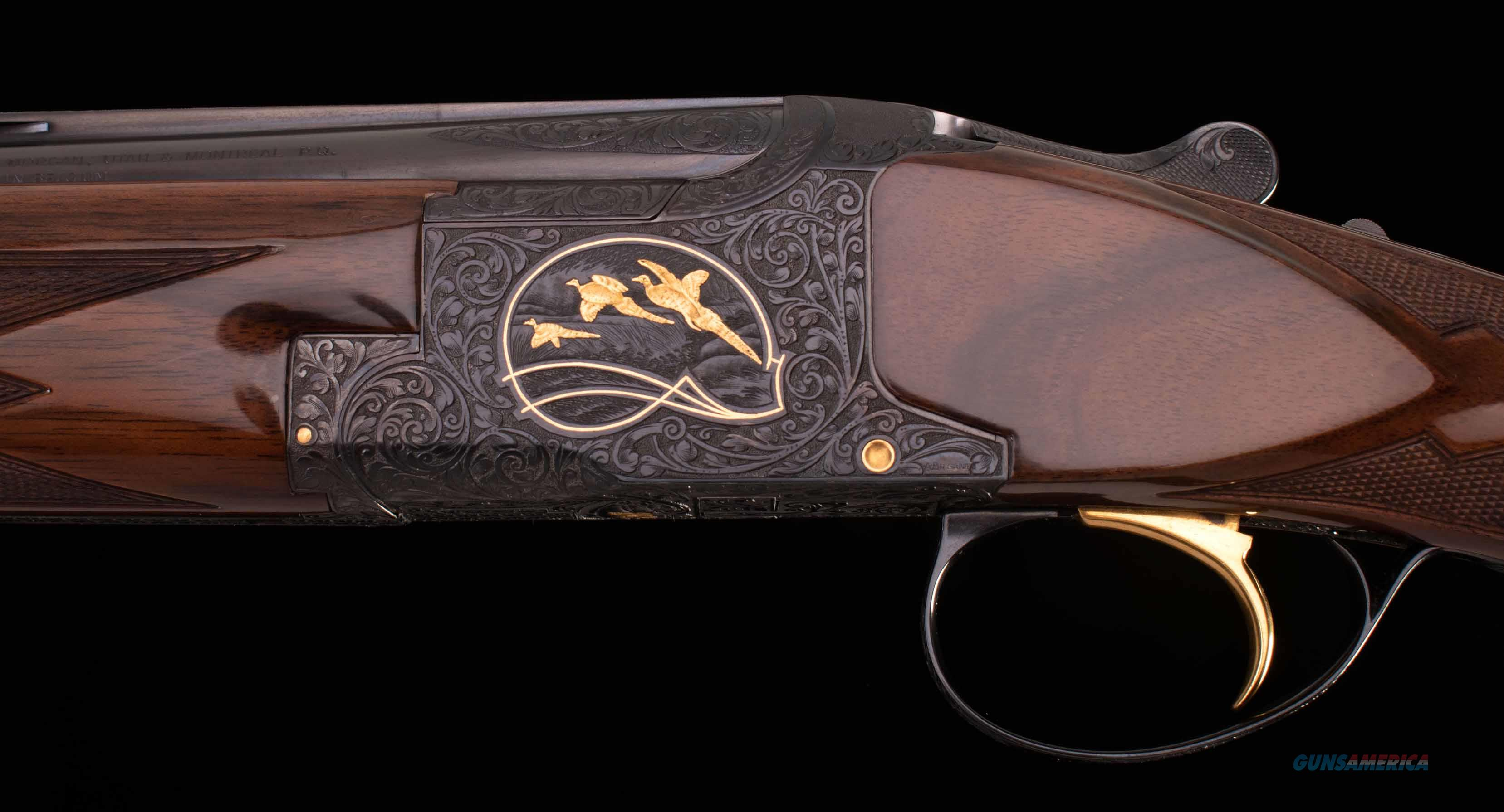 Browning Superposed Midas 28 Gauge – 1 OF 119, AS NEW, LETTER, CASE, vintage firearms inc