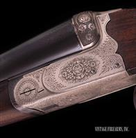 C. Masquelier 12 Gauge – DOUBLE SHOTGUN, ENGRAVED 6LBS. 6OZ., NICE! - vintage firearms inc