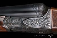 Fox BE 12 Gauge - BEAVERTAIL, NICELY RESTORED, LATE ENGRAVING