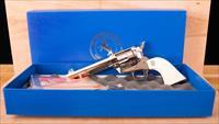 Colt Single Action Army .45 Colt – 3rd GEN, IVORY GRIPS, NEW IN BOX, vintage firearms inc