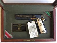 D-DAY COMMEMORATIVE 1911 A1 45acp PISTOL in DISPLAY CASE