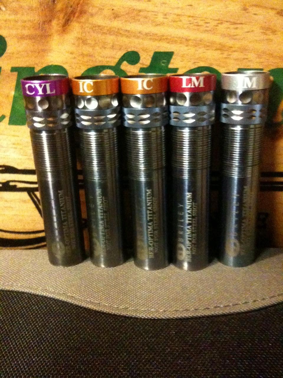 Briley Titanium Choke Tubes for Beretta Optima