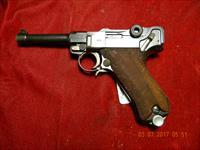 1936 S42 GERMAN LUGER 9MM