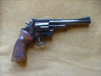 Smith & Wesson Model 53 .22 Jet Magnum Blue 1961  4 screw