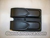 Safariland black leather mag pouch for H&K USPc / P2000