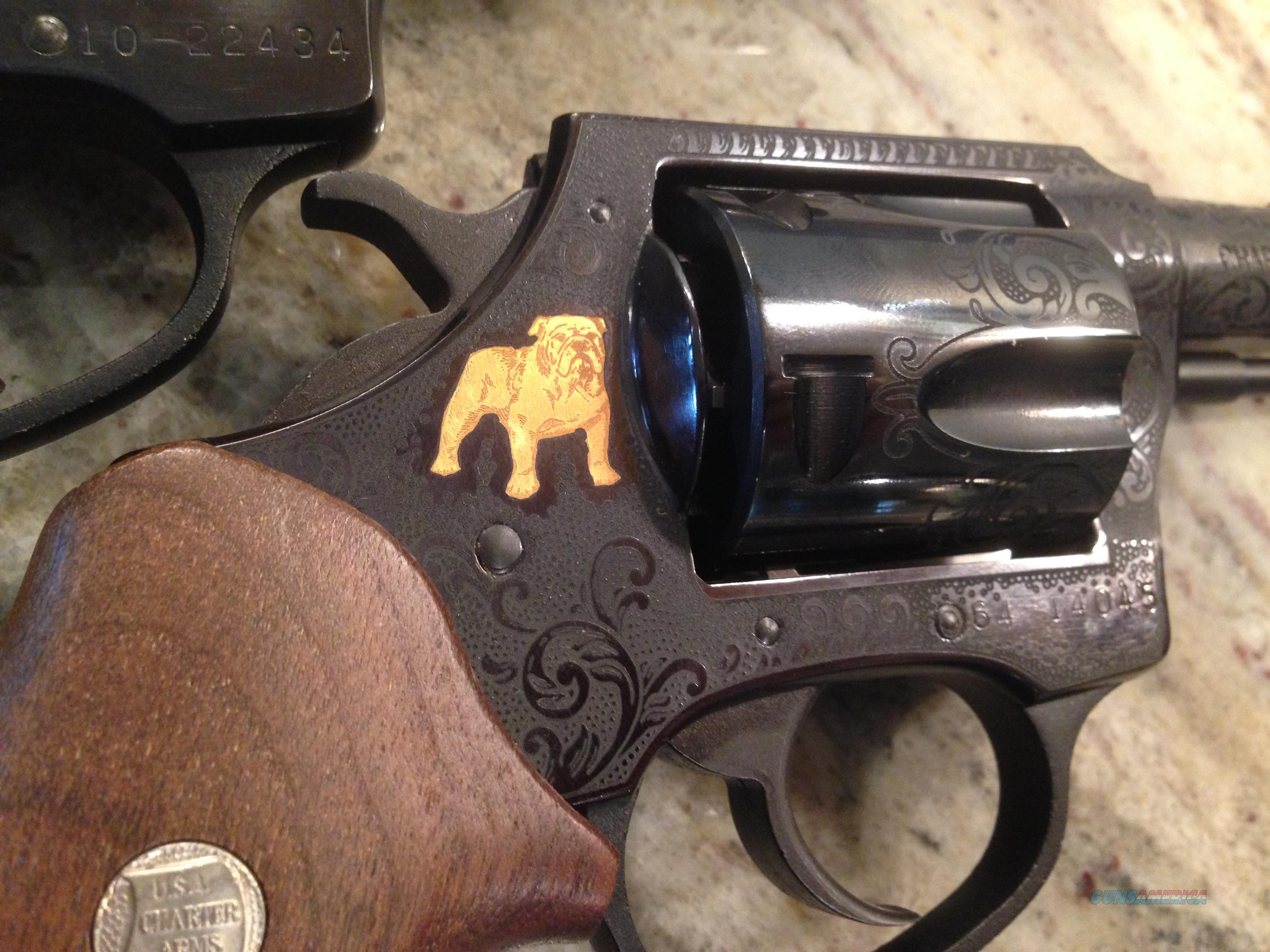 New Charter Arms 50th Anniversary Bulldog 44 Special