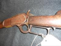 Winchester 1876, made 1883 in rare 45-75 caliber. Gorgeous